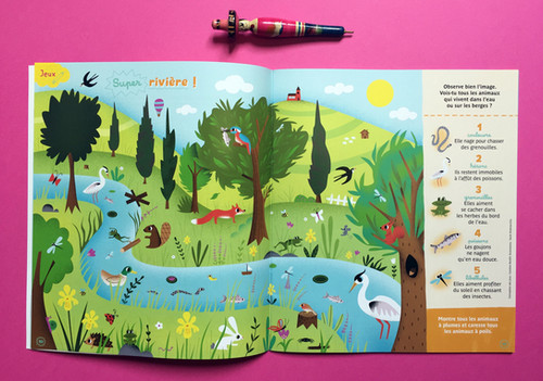 La petite Salamandre magazine