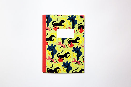 Handmade notebook - Panthers