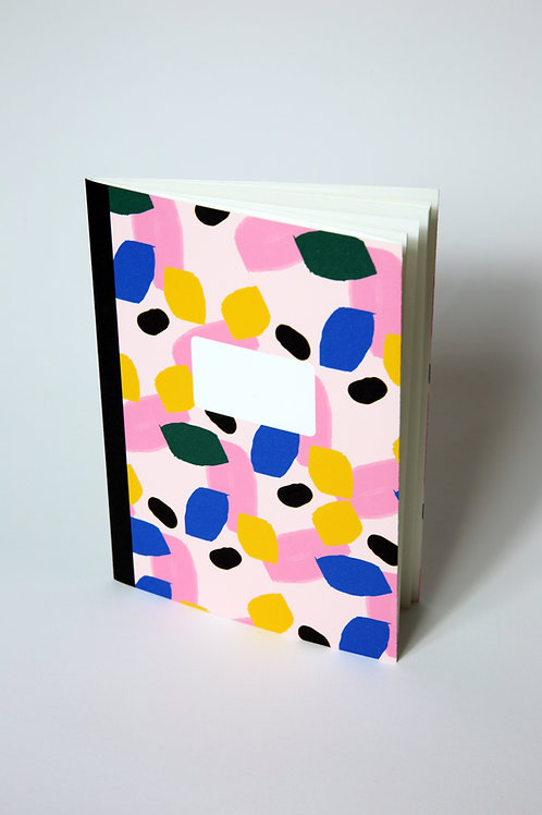 Handmade notebook - Abstract