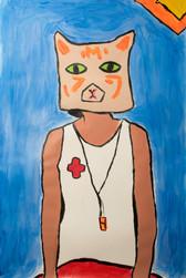 Lifegaurd Cat