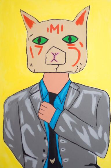 cat in suit
