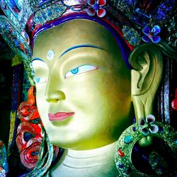 Maitreya at Hemis Monastery