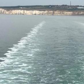 Out at sea...