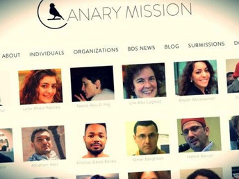 Canary Mission Report on AMP and IfNotNow
