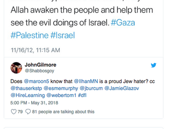 Democrats Who Align Themselves Against the Jews