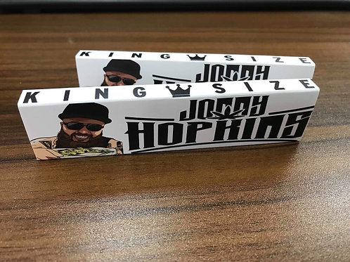 Jonny Hopkins Rolling Papers w/ Tips