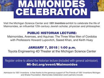 Maimonides and 1001 Lies?