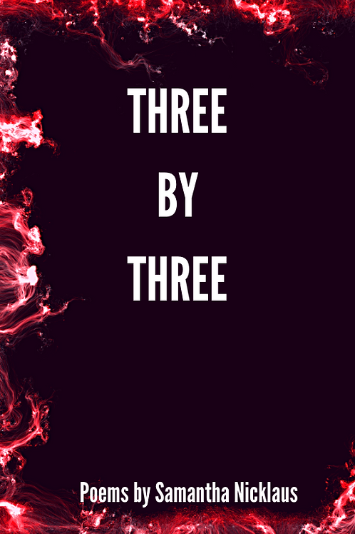 Three By Three: A Poetry Book - eBook