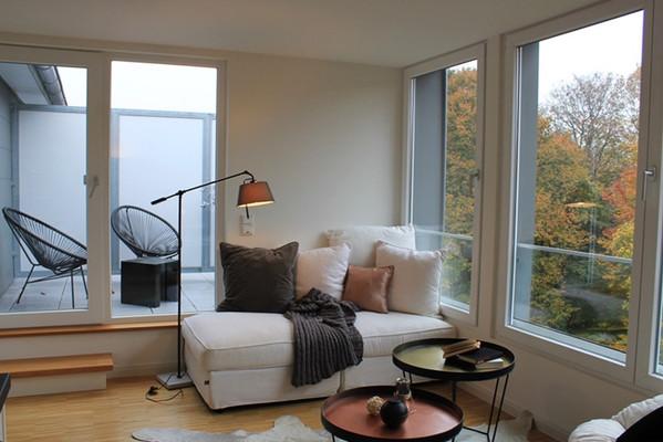 Vielleicht das kleinste Penthouse Hamburgs