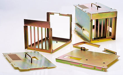Sheet metal assembly – card cage