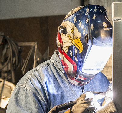 Welded with pride right here in the USA