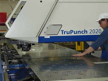 CNC punching is among our many capabilities