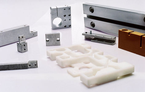 Machined parts – aluminum and plastic