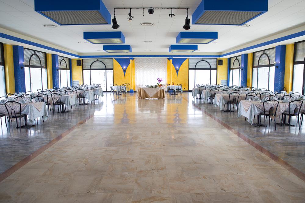 Sala ricevimenti hotel sole di pugli
