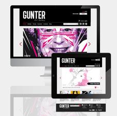 Gunter Gallery website