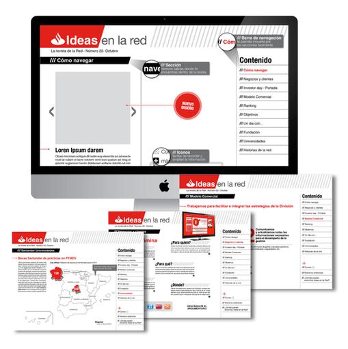 Santander microsite