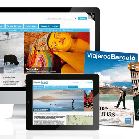 Viajero Barcelo microsite