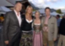 Jürgen B.Harder,Franziska van Almsick, Petra u. Bernhard Zamek