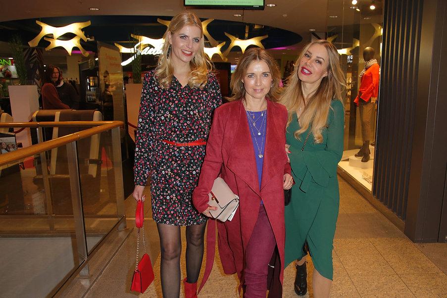 Die TV-Ladies Tanja Bülte,Tina Ruland un