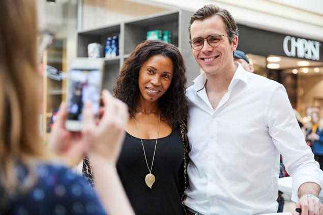 Selfie mit Dr. Wimmer und Besucher AEZ.j