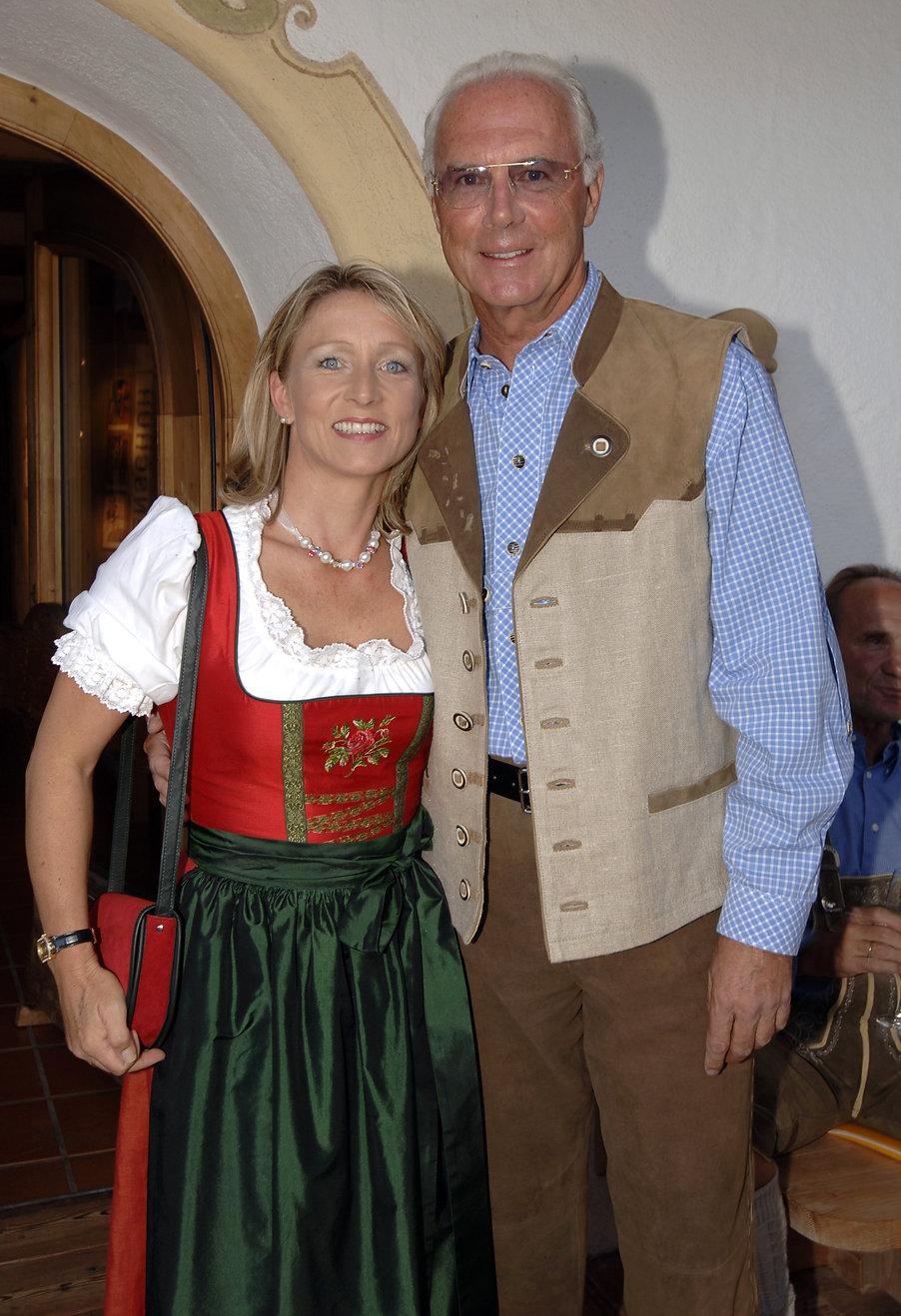 Franz Beckenbauer, Heidi Beckenbauer.jpg