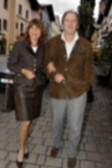 Günther Maria Halmer und Frau Claudia.jp