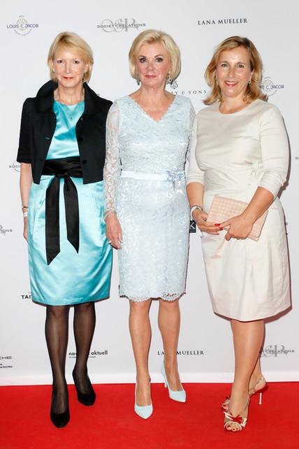Barbara Brosius, Liz Mohn,Isabel Bonacke