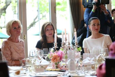 Liz Mohn, Vicky Leandros, Brita Segger.J