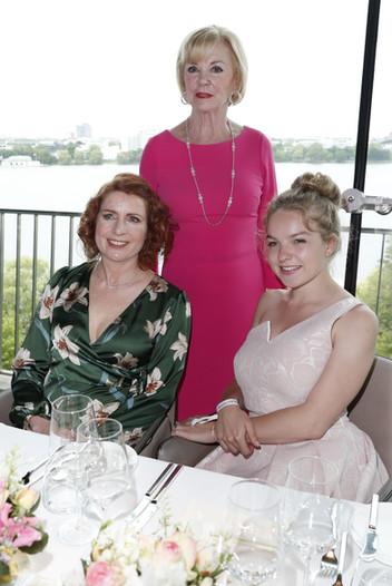 Monica Lierhaus, Liz Mohn, Nichte Greta