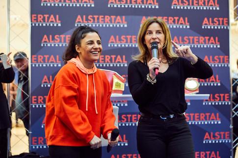 Susi Kentikian und Silke Gandzior