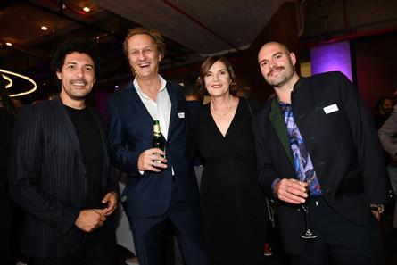 Aftershow-Party PR-Bild Award 2019 mit Edith Stier-Thompson und Boris Entrup