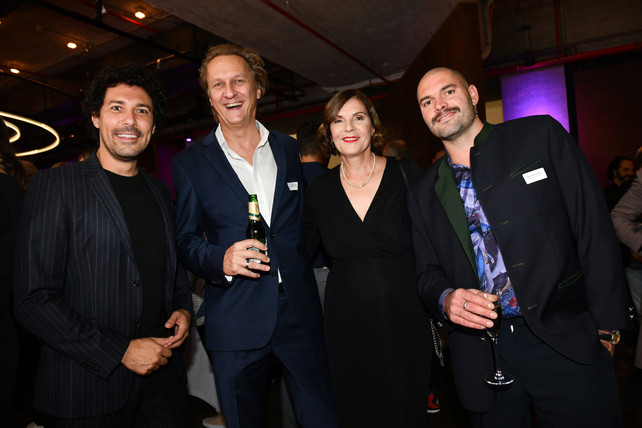 Aftershow-Party PR-Bild Award 2019 mit Edith Stier-Thompson und Boris Entrup