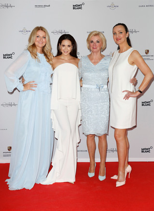 Frauke Ludowig, Mandy Capristo, Liz Mohn