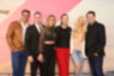 v.l.n.r.: Moderator Carsten Spengemann, Schauspieler Manou Lubowski, Maja Prinzessin von Hohenzollern, PR-Unternehmerin Brita Segger, Sängerin Aneta Sablik und Schauspieler Bruno Eyron