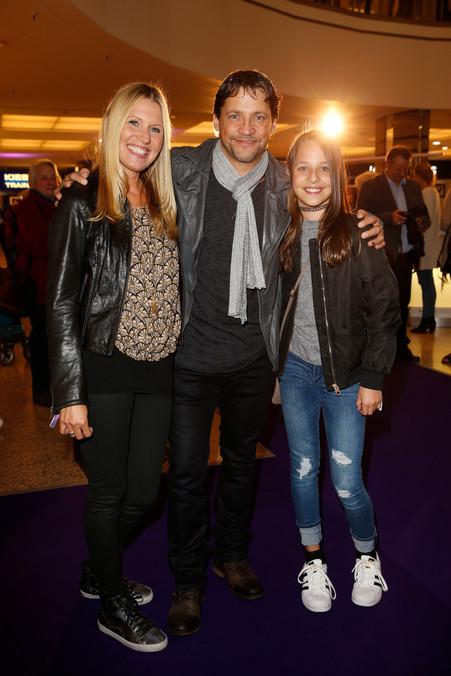 Patrick Back mit Frau Carola und Tochter