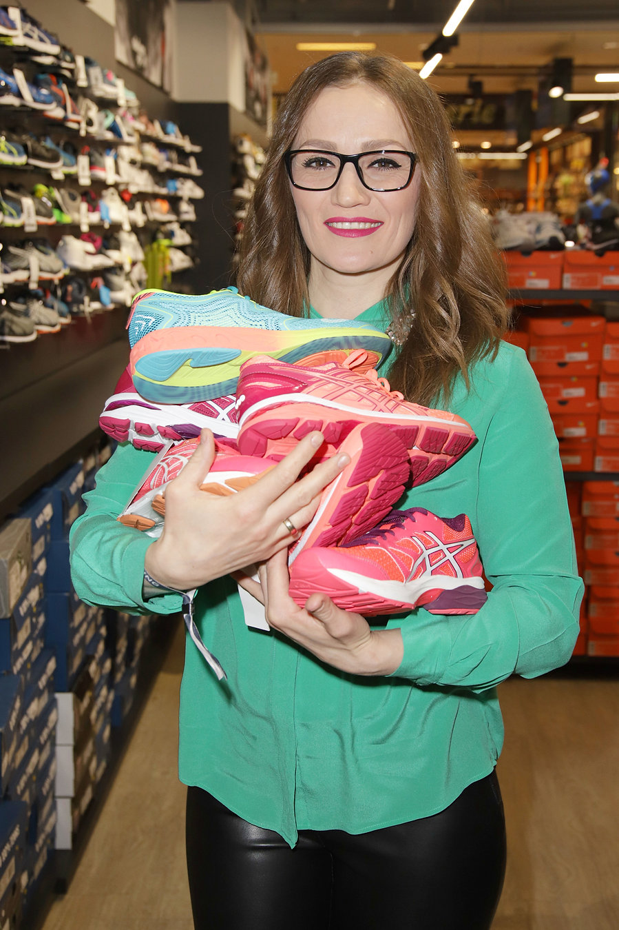 Ina Menzer beim Late Night Shopping in d