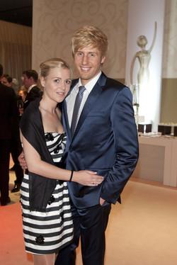 Maxi Arland und Frau