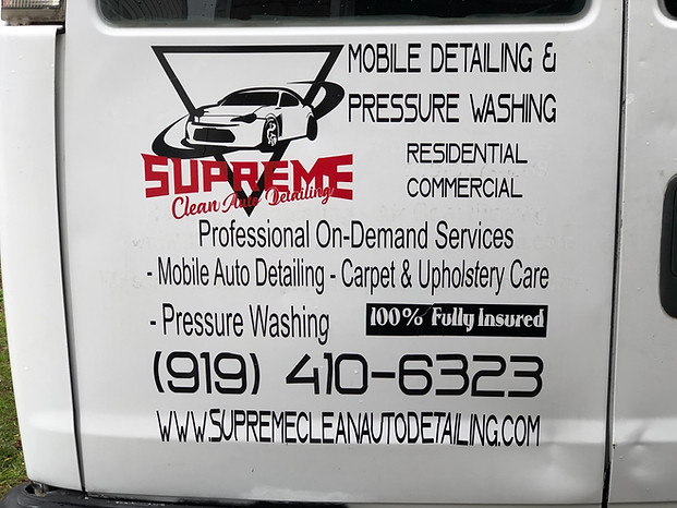 Supreme Auto Mobile Detailing LLC.