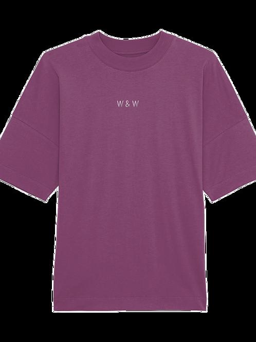 W & W Blaster Tshirt Mauve