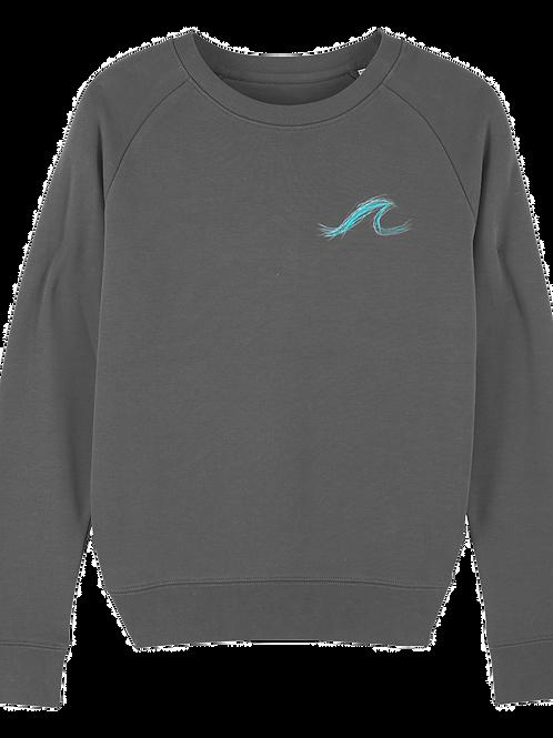 Wave Tripster Sweatshirt Anthracite