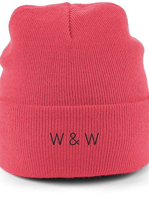W & W Beanie Coral