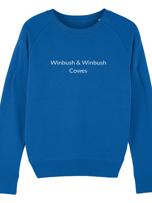 Cowes Tripster Sweatshirt Majorelle Blue