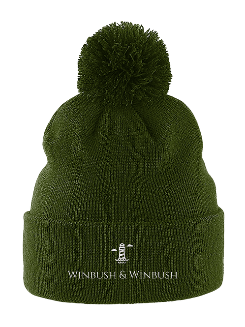 Original Bobble Hat Moss Green