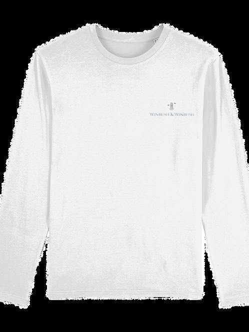 Original Shuffler Long Sleeve Top White