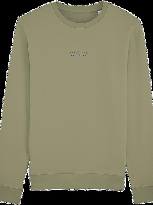 W & W Rise Sweatshirt Sage