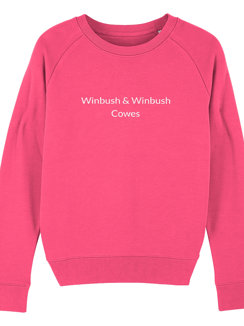 Cowes Tripster Sweatshirt Pink Punch