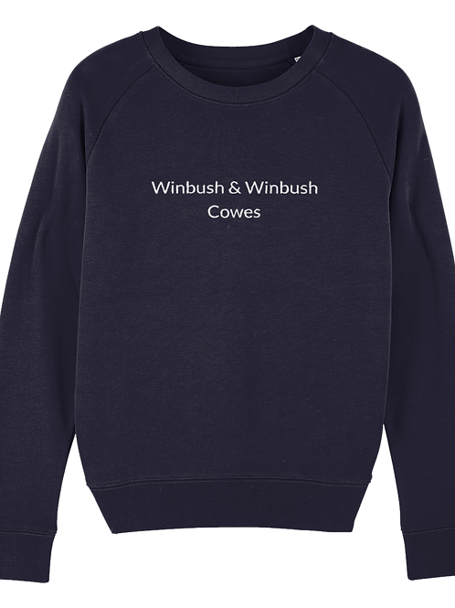 Cowes Tripster Sweatshirt French Navy