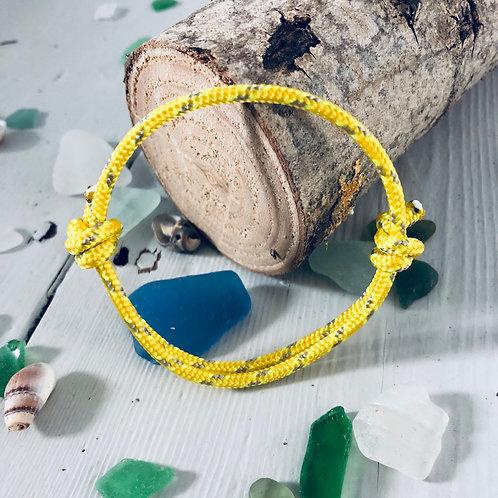 Solent Sunshine Rope Bracelet
