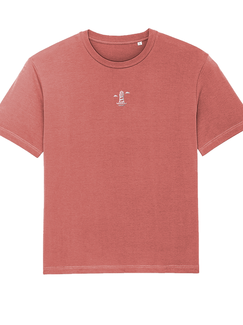 Needles Fuser Tshirt Rose Clay