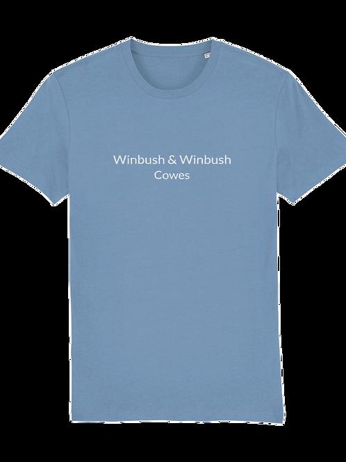 Cowes Creator Tshirt Mid Heather Blue